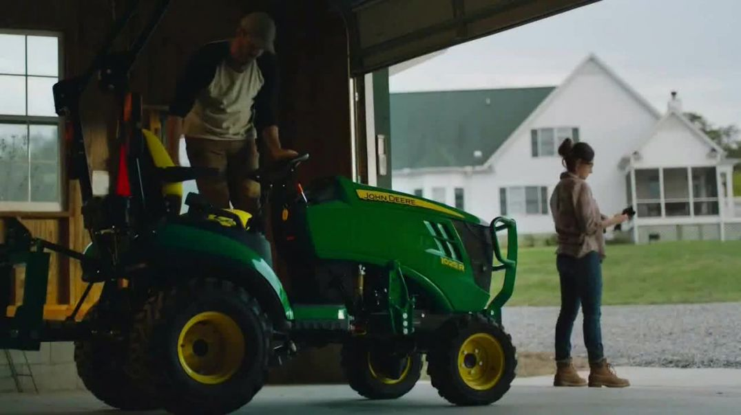 Watch John Deere 1 Series TV Commercial Ad, Change Your Attachments $99 per Month
