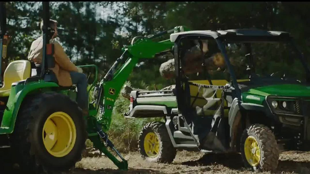 Watch John Deere 3E Series TV Commercial Ad, Your Land