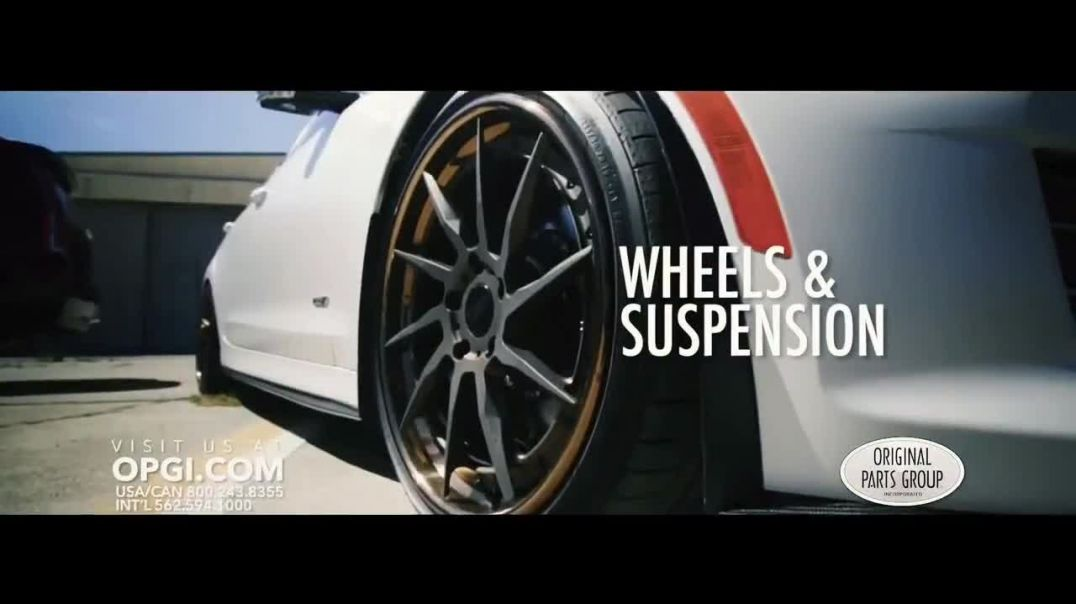 Watch OPGI Original Parts Group Inc TV Commercial Ad, Modern Performance Cadillac