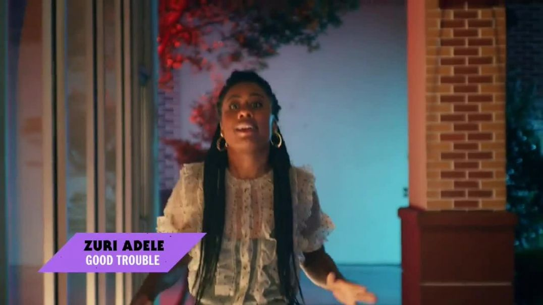 Watch Party City TV Commercial Ad, Freeform Halloween Haul Featuring Zuri Adele, Sherry Cola and Tom