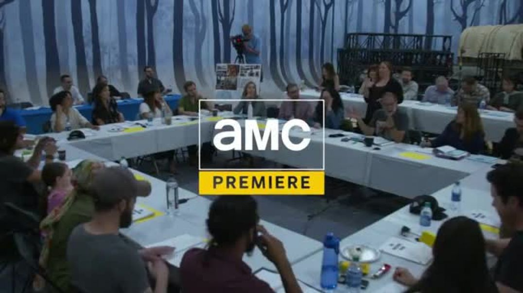 Watch AMC Premiere TV Commercial ad, The Walking Dead Cast Table Read