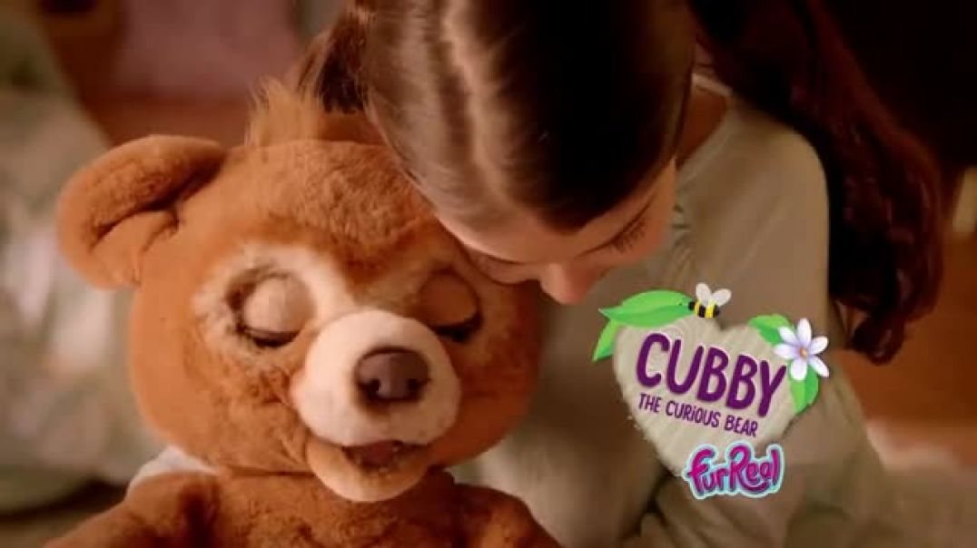 Watch FurReal Friends Cubby the Curious Bear TV Commercial ad, Take Care