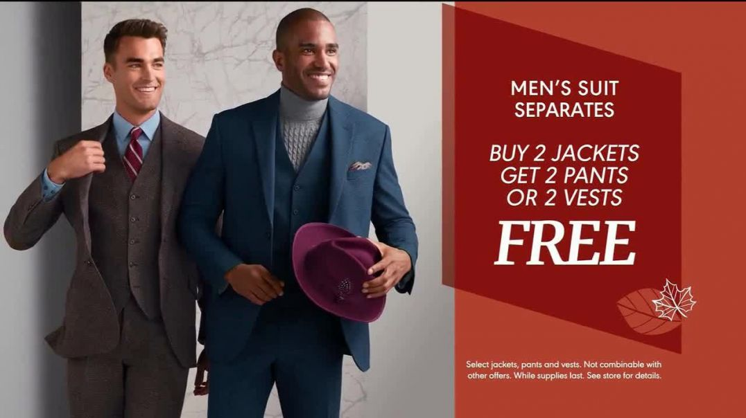 Watch K&G Fashion Superstore Fall Fashion Event TV Commercial Ad, Suit Separates, Suits