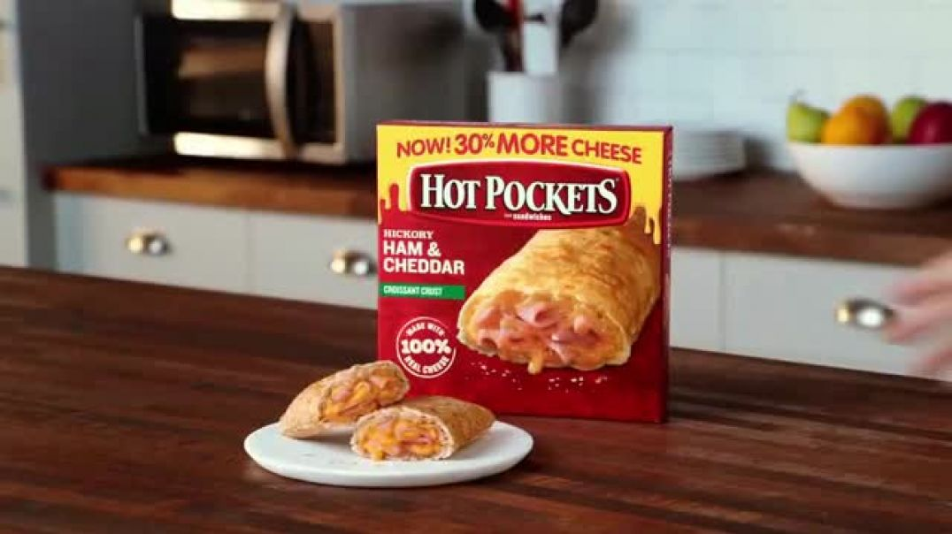 Watch Hot Pockets Hickory Ham & Cheddar TV Commercial Ad, Alerta de sabor