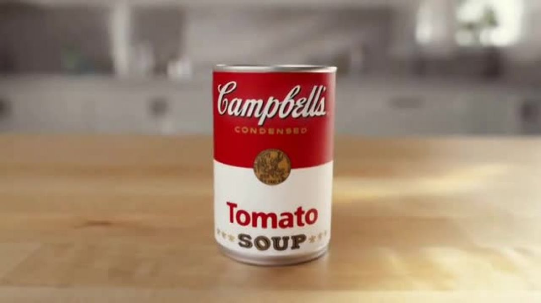 Watch Campbells Soup TV Commercial Ad, Can You Name a More Perfect Pair