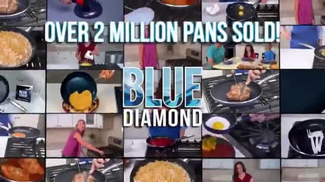 Watch Blue Diamond Pan TV Commercial Ad, Everyones Favorite Stores
