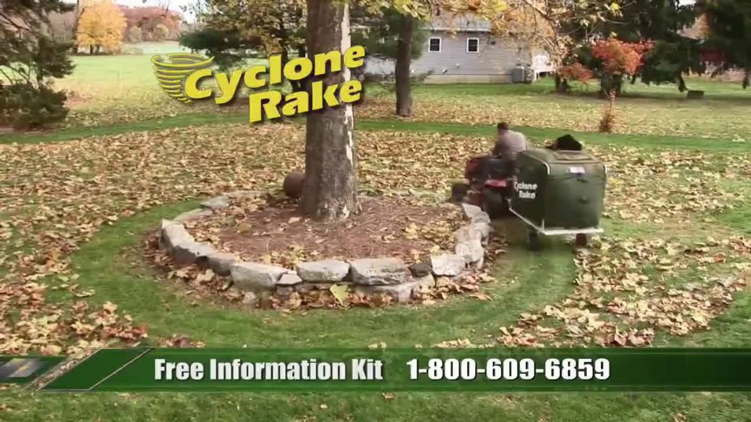 Watch Cyclone Rake TV Commercial Ad, Toughest Job of the Year TV Commercial Ad