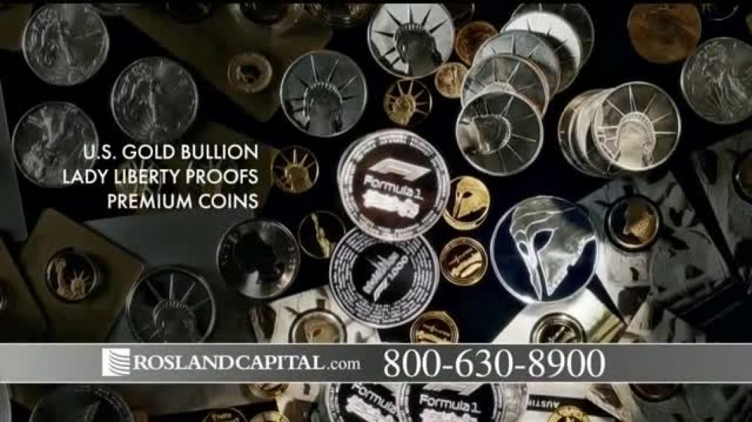 Watch Rosland Capital TV Commercial Ad, Buying Power of Dollar Has Declined; Price of Gold Has Gone