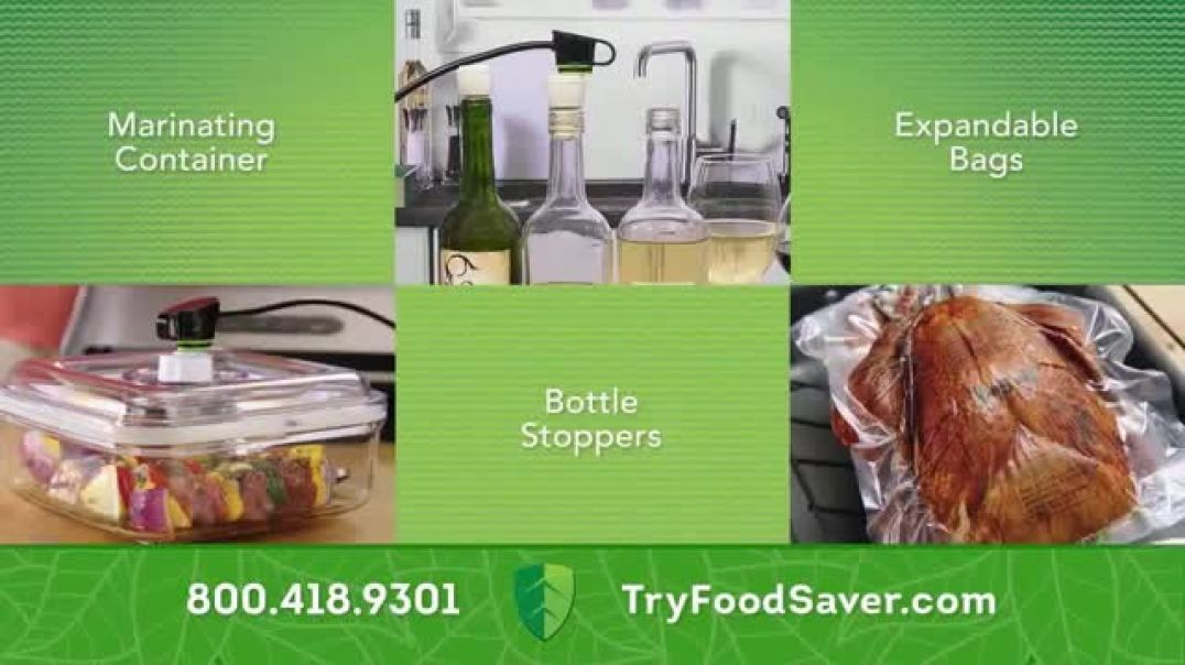 Watch FoodSaver TV Commercial Ad, Complete System TV Commercial Ad
