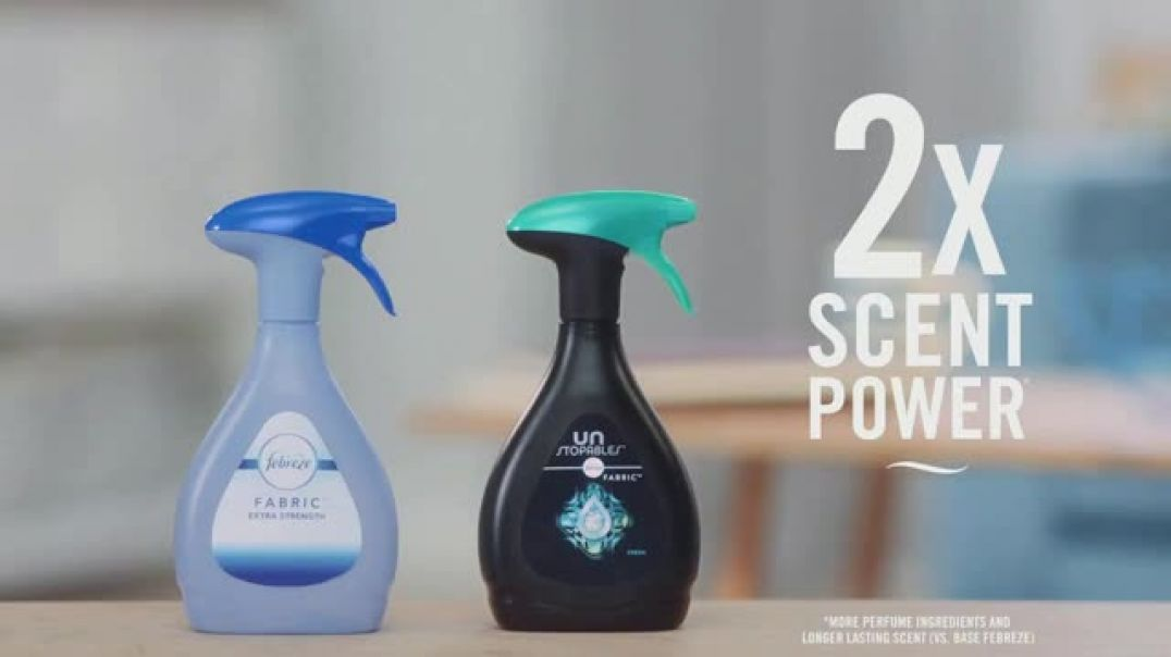 Watch Febreze FABRIC TV Commercial Ad, Tackle Tough Odors
