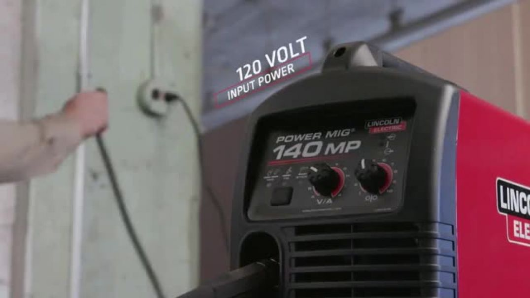 Watch Lincoln Electric Power Mig 140 MP TV Commercial Ad, The Welder to Have if You Can Only Have On