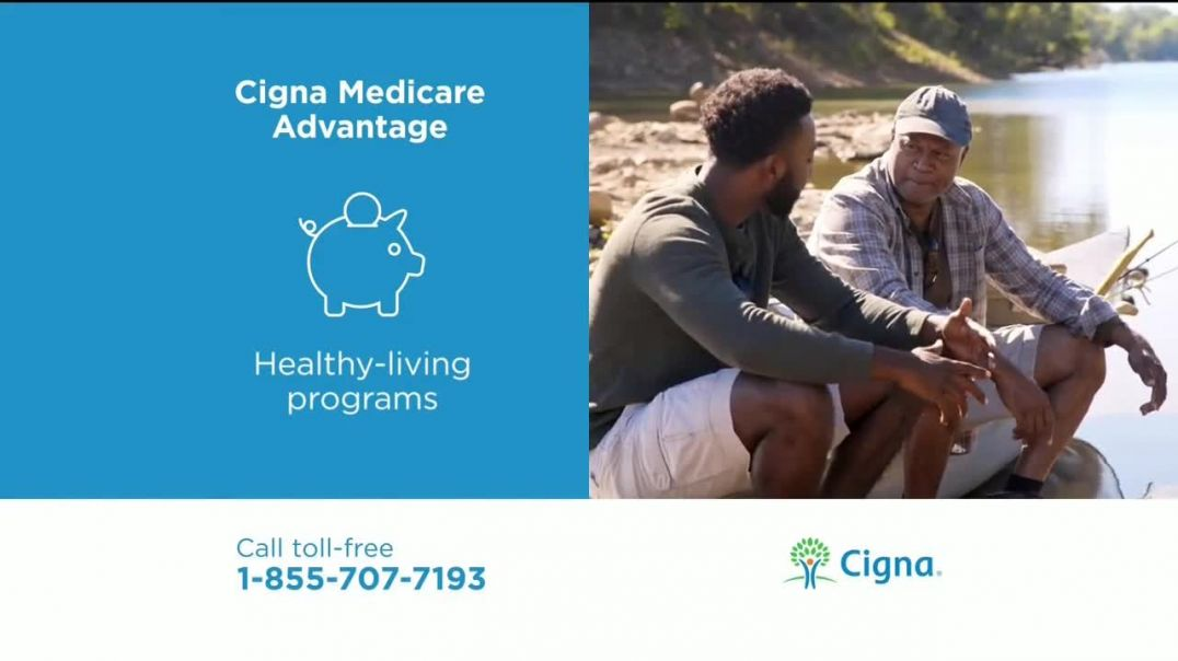 Watch Cigna Medicare Advantage TV Commercial Ad, A Whole Person John TV Commercial Ad