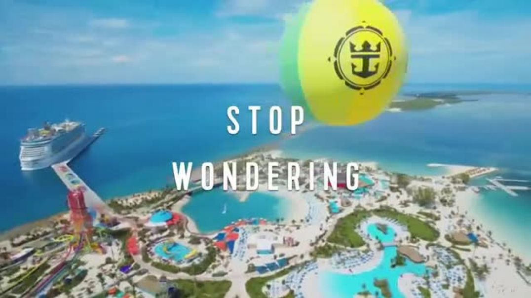 Watch Royal Caribbean Cruise Lines TV Commercial Ad, Stop Wondering 30 Percent Song by Mapei