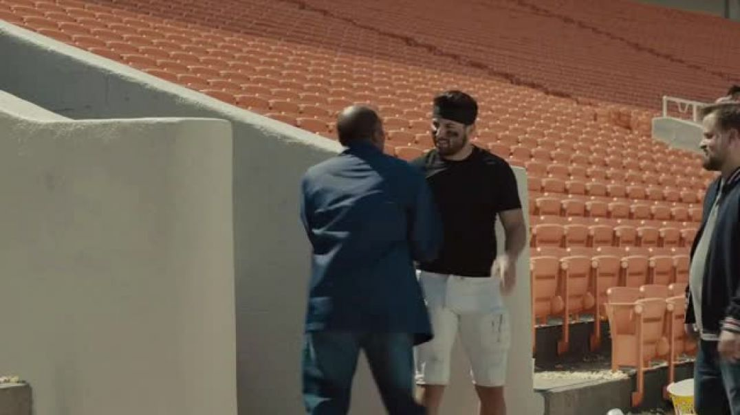 Watch Progressive TV Commercial Ad, Baker Mayfield Cleans House
