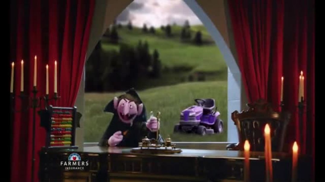 Watch Farmers Insurance TV Commercial Ad, Sesame Street One Featuring J. K. Simmons