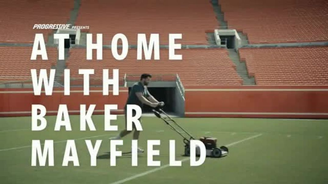 Watch Progressive TV Commercial Ad, Baker Mayfield Gets a Beverage Featuring Baker Mayfield and Emil