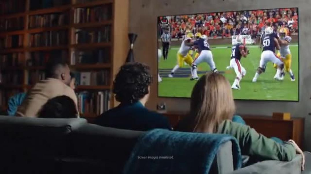 Watch Samsung QLED TV TV Commercial Ad, Football or Nothing
