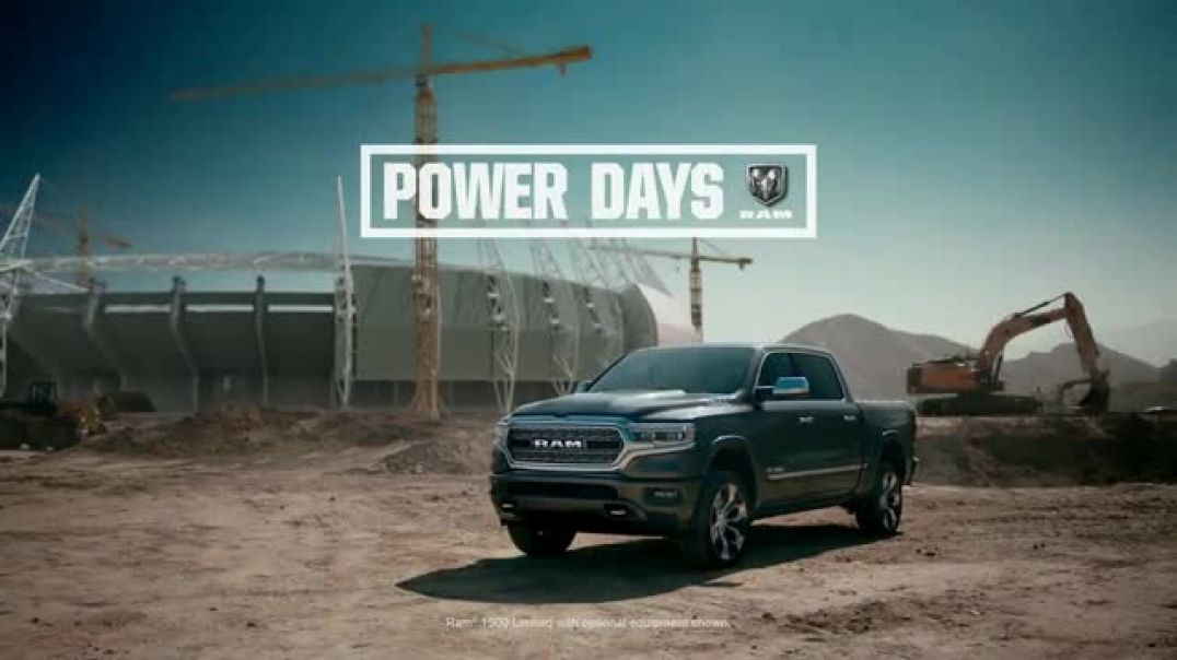 Watch Ram Trucks Power Days TV Commercial Ad, A Great Deal Song by Stone Temple Pilots
