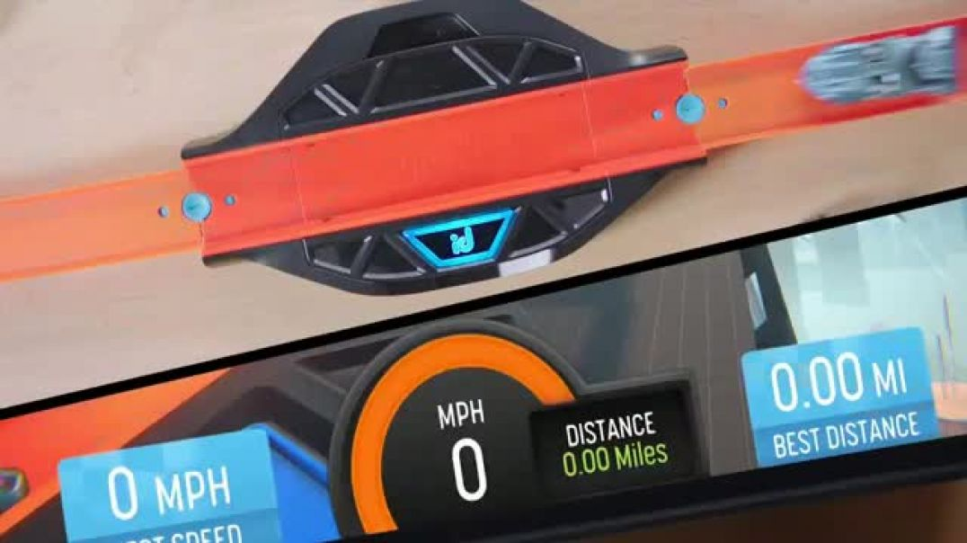 Watch Hot Wheels id Race Portal TV Commercial Ad, Virtual Garage