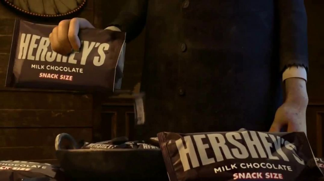 Watch Hersheys TV Commercial Ad, The Addams Family TrickOrTreat.mp4
