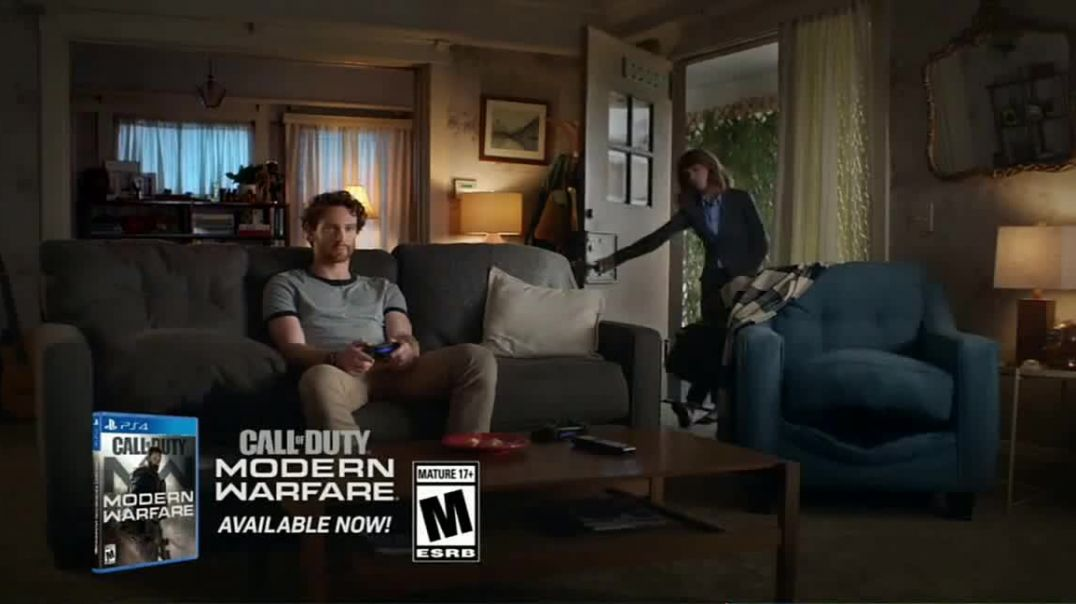 Watch Totinos TV Commercial Ad, Shes Home Call of Duty