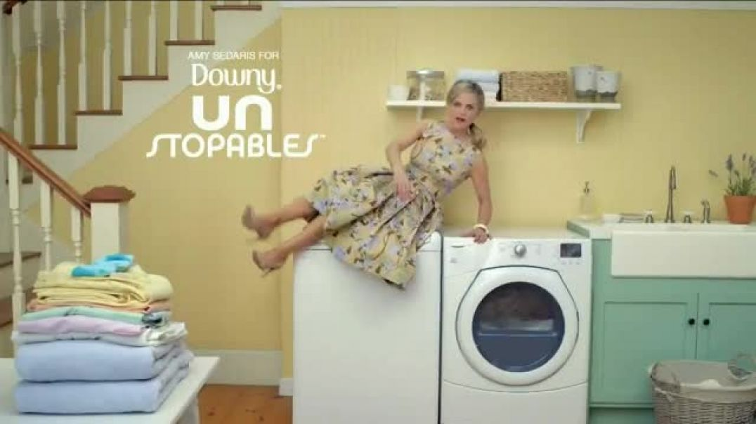 Watch Downy Unstopables TV Commercial Ad, Closet Featuring Amy Sedaris
