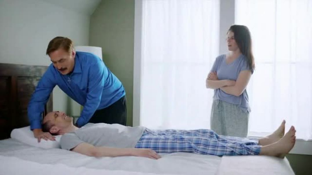 Watch My Pillow Premium TV Commercial Ad, Best Sleep of Your Life Deep Discount Interruption.mp4 TV