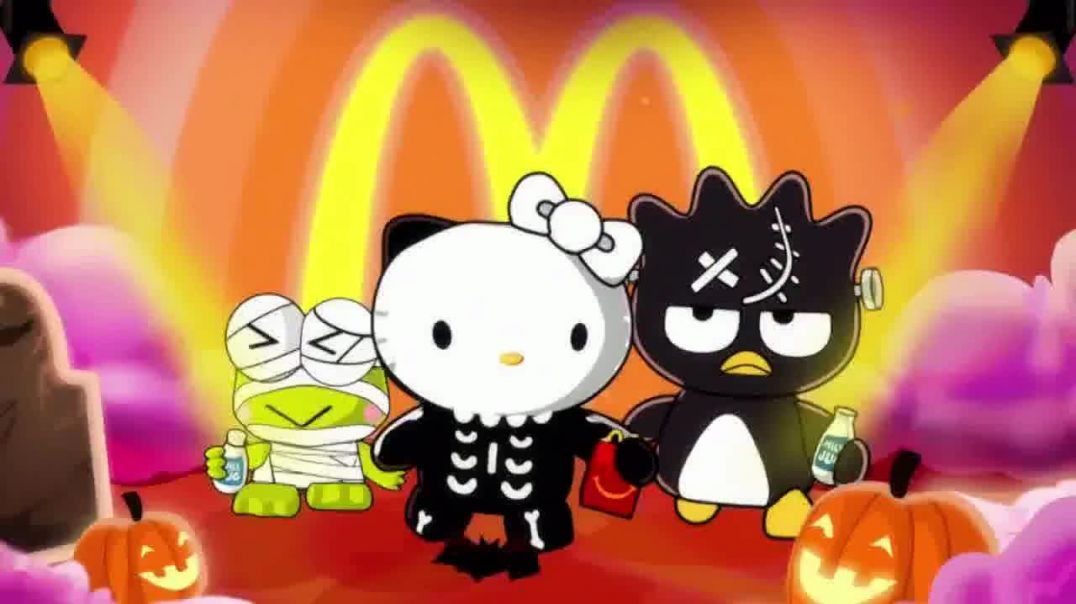 Watch McDonalds Happy Meal TV Commercial Ad, Halloween Hello Kitty.mp4