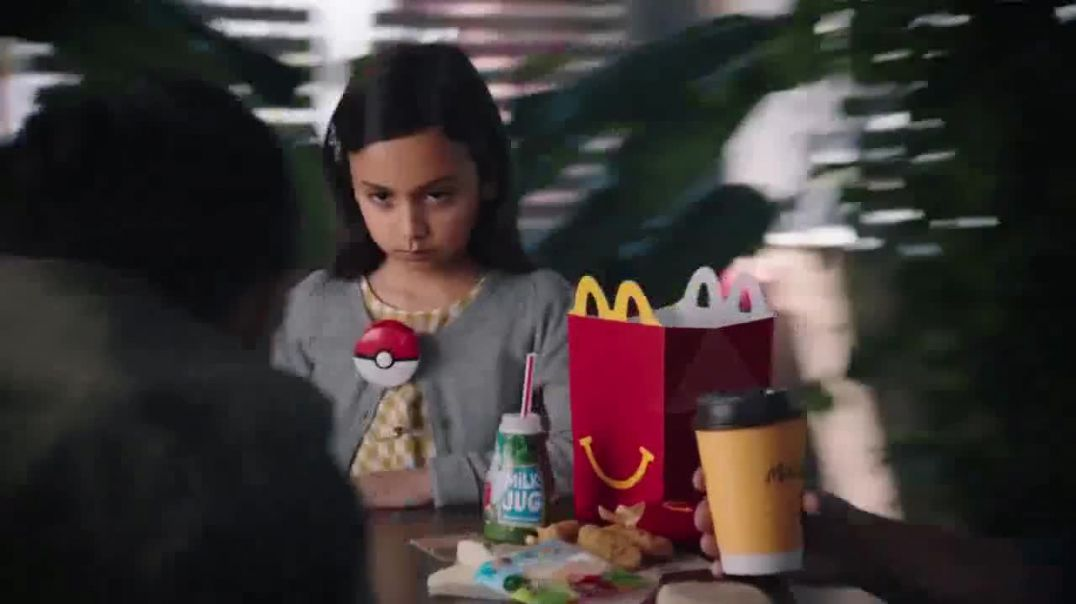 Watch McDonalds Happy Meal TV Commercial Ad, Face Off Pokémon