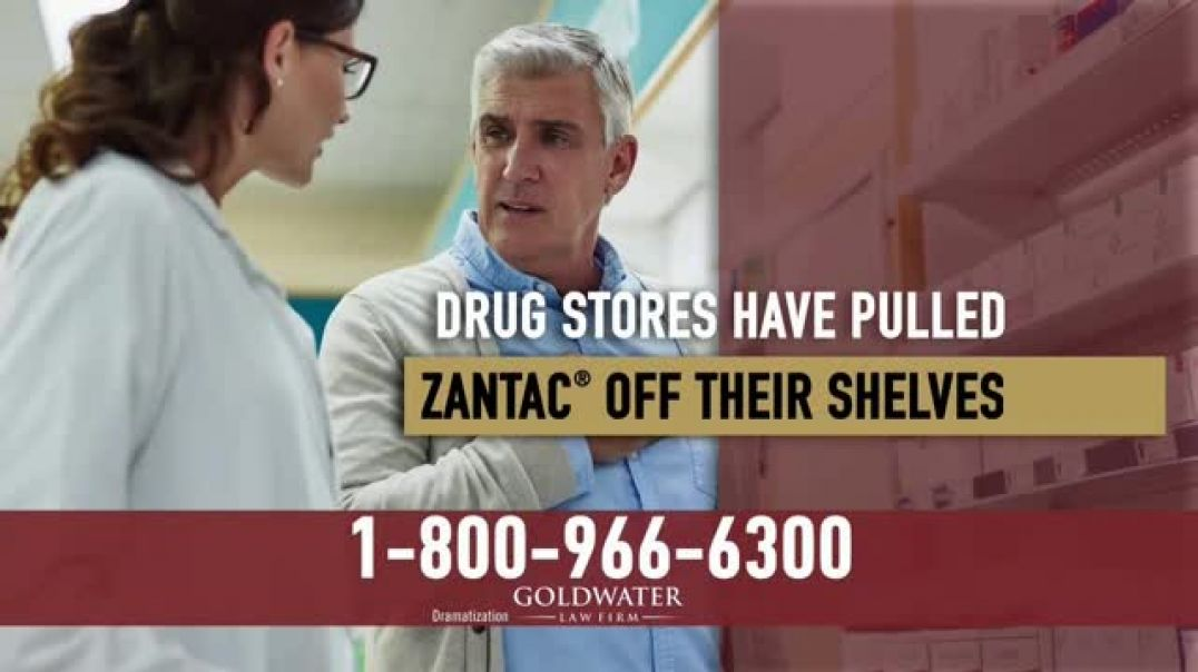 Watch Goldwater Law Firm TV Commercial Ad, Daily Zantac Users