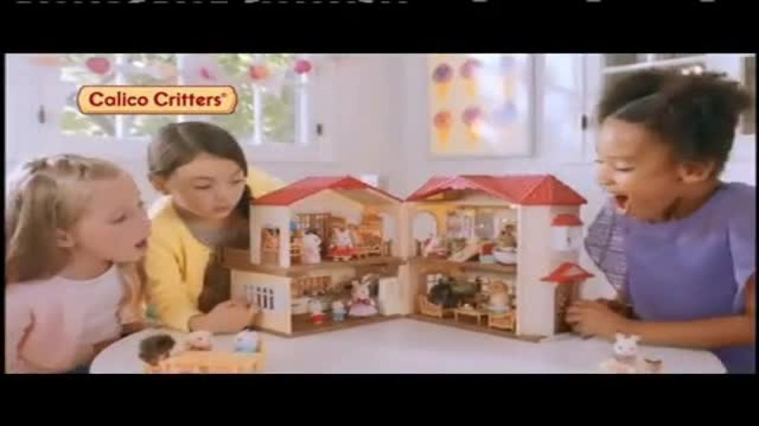 Watch Calico Critters Red Roof Country Home TV Commercial Ad, Belles House