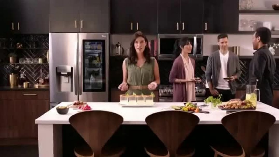 Watch LG InstaView Refrigerator TV Commercial Ad, Be a Baller Song by The Heavy