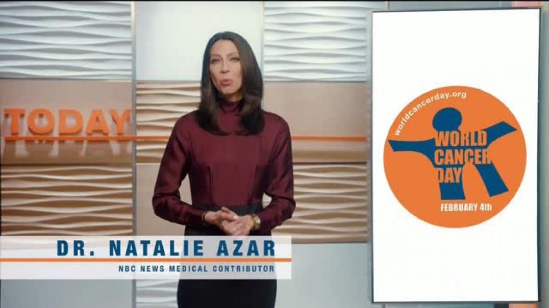 Watch 2018 World Cancer Day TV Commercial Ad, Super Bowl LII Featuring Dr. Natalie Azar