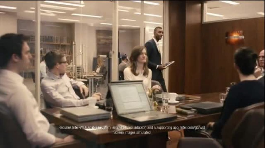 Watch Intel 2in1 Laptop TV Commercial Ad, Meeting