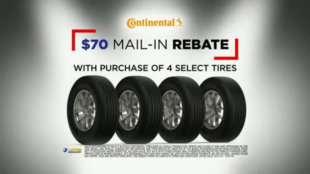 Watch National Tire & Battery Big Brands Bonus Month TV Commercial Ad, Continental Tires