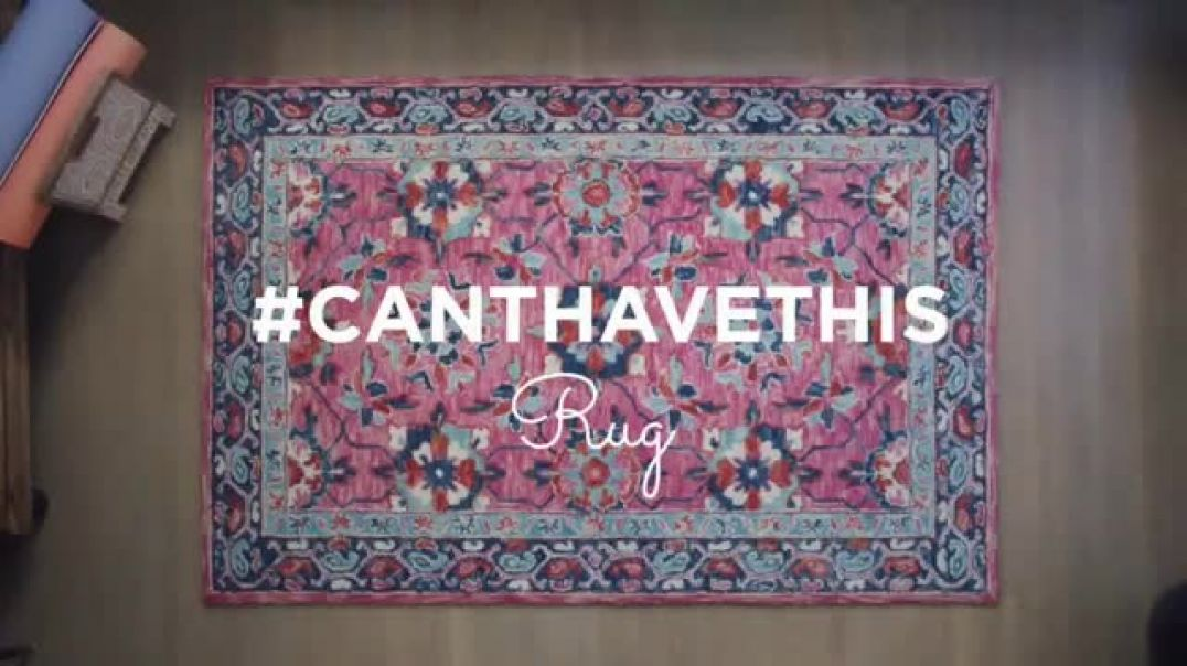 Watch HomeGoods TV Commercial Ad, #CantHaveThisRug