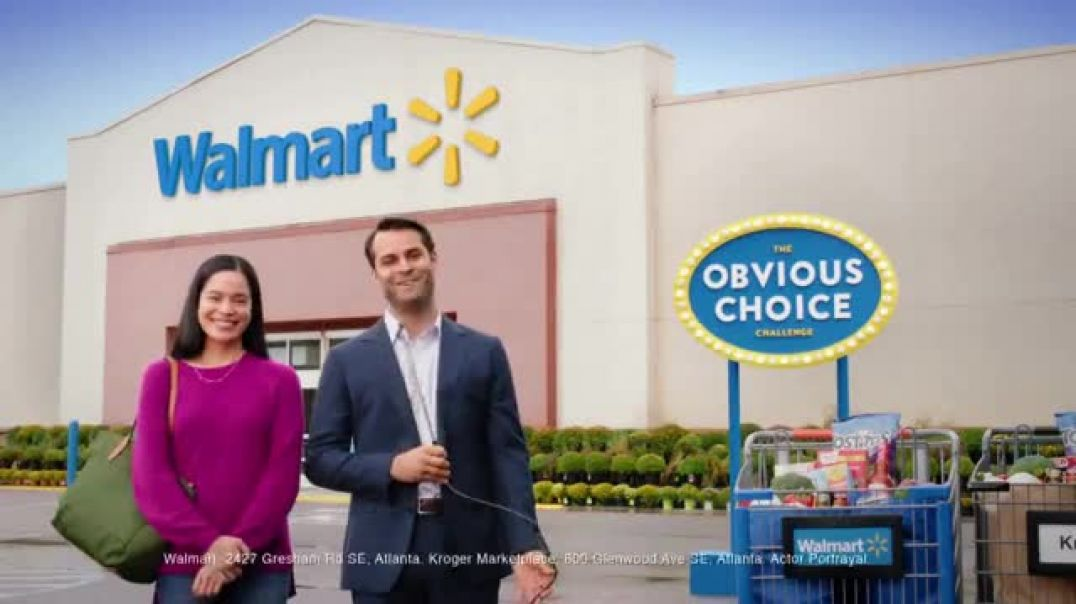 Watch Walmart TV Commercial Ad, Obvious Choice Challenge Milk Ad, Snickers and Grapes