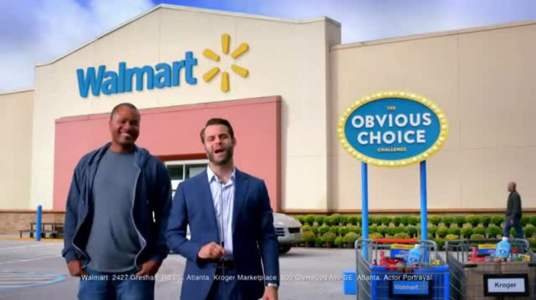 Watch Walmart TV Commercial Ad, The Obvious Choice Challenge Clementines Ad, Candy and Chicken Wings