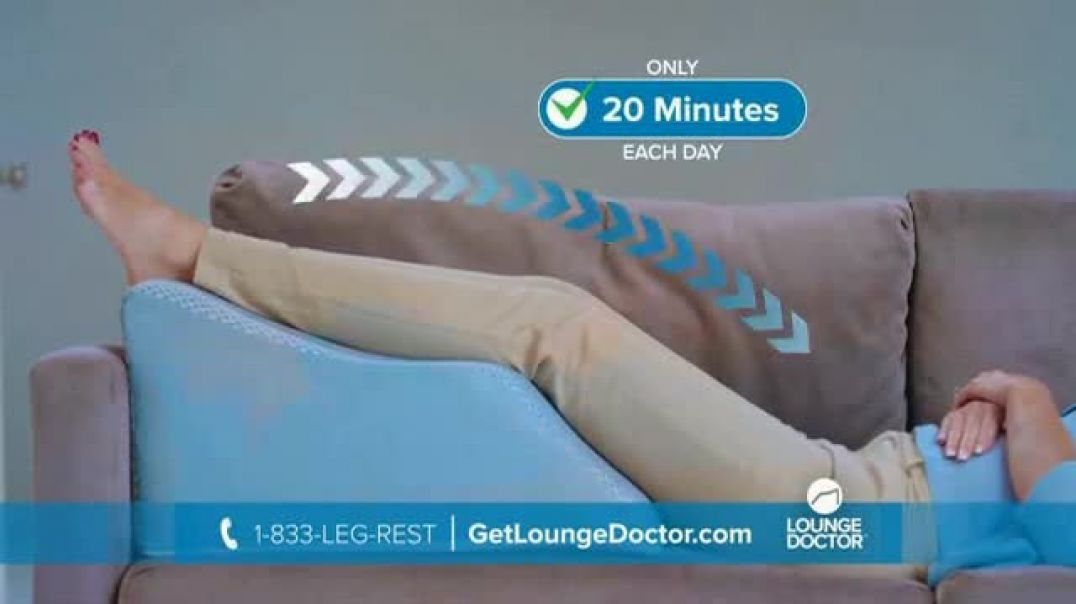 Watch Lounge Doctor TV Commercial Ad, 20 Minutes a Day