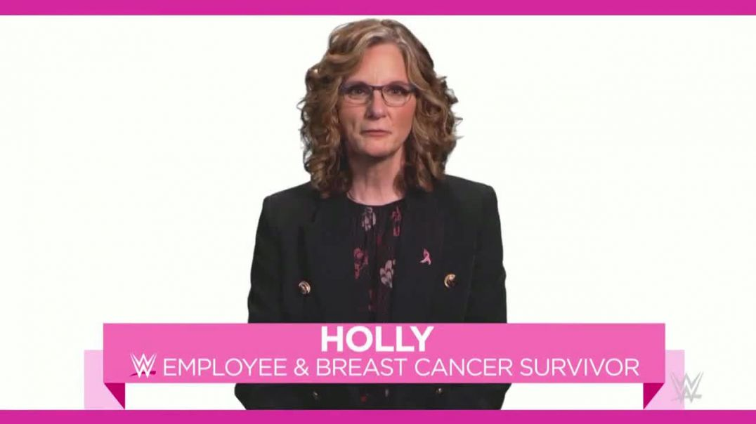 Watch Susan G. Komen for the Cure TV Commercial Ad WWE Employee Holly Offers an Important Message.mp