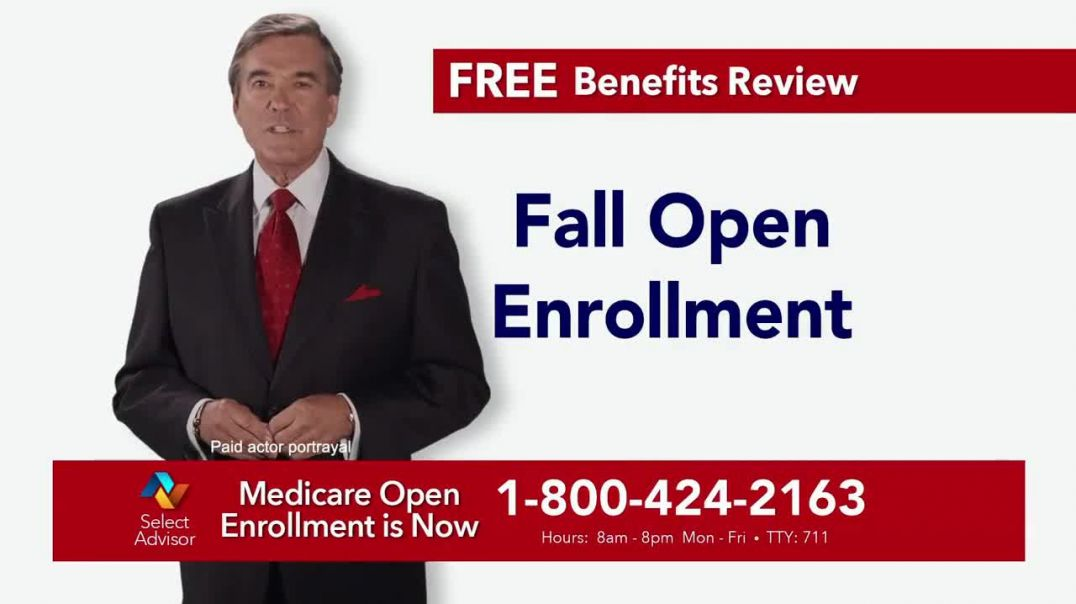Select Advisor 2019 Fall Open Enrollment TV Commercial Ad, Free Medicare Benefits Review.mp4