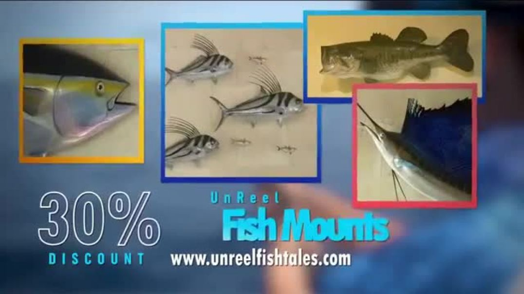 Unreel Fishtales TV Commercial Ad New and Exciting