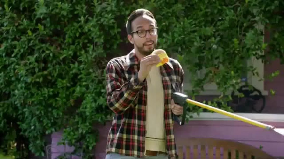 McDonalds Sausage McMuffin TV Commercial Ad, Wake up Breakfast Pressure Washer.mp4
