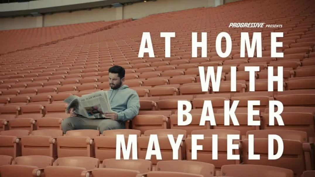 Progressive TV Commercial Ad, Baker Mayfield Eats Breakfast.mp4