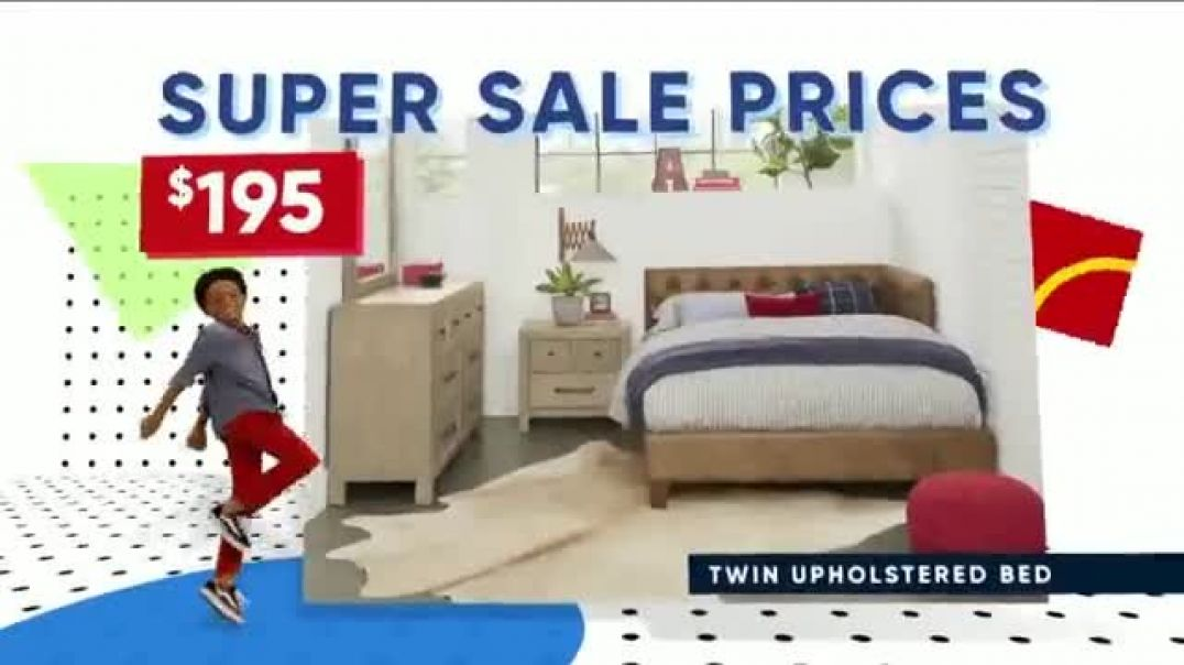 Rooms to Go Kids Holiday Sale TV Commercial Ad, Style and Function.mp4