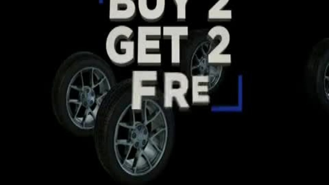 National Tire & Battery (NTB) Black Friday TV Commercial Ad Buy Two Ad Get Two and $19.9
