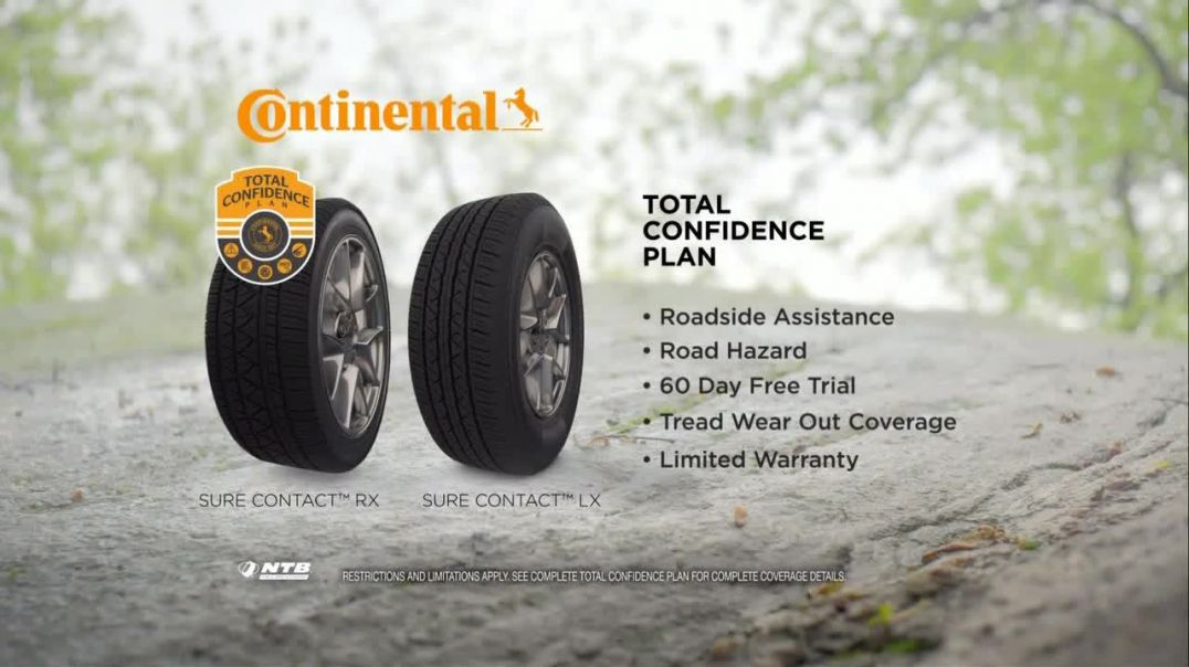 National Tire & Battery TV Commercial Ad Buy Three Get One Free Continental.mp4
