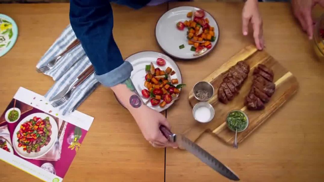 HelloFresh TV Commercial Ad Val & Ryan Nine Free Meals.mp4