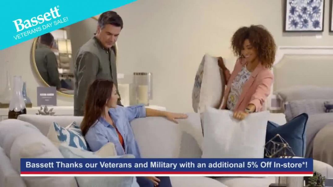 Bassett Veterans Day Sale TV Commercial Ad Fit Your Style.mp4