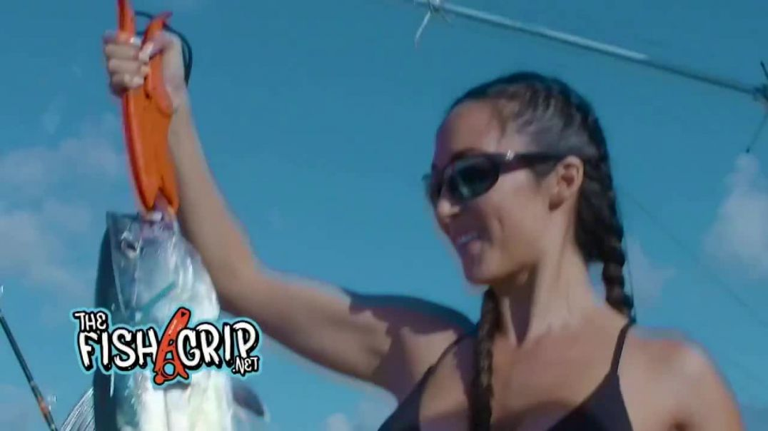 The Fish Grip TV Commercial Ad Dont Reach Into That Mouth Featuring Kevin Harrington